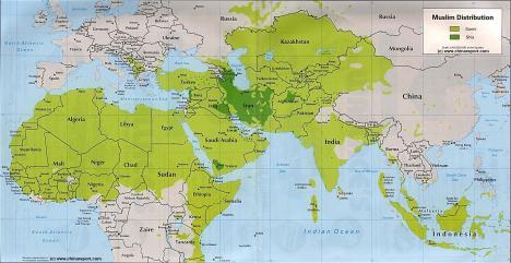 Islam di Sepertiga Dunia